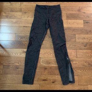 Lululemon denim gray leggings